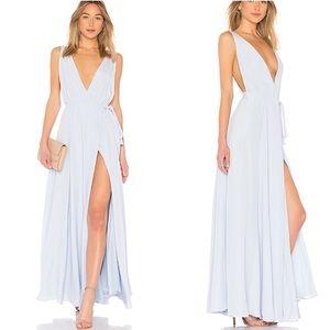 New Lovers + friends Leah gown wrap dress